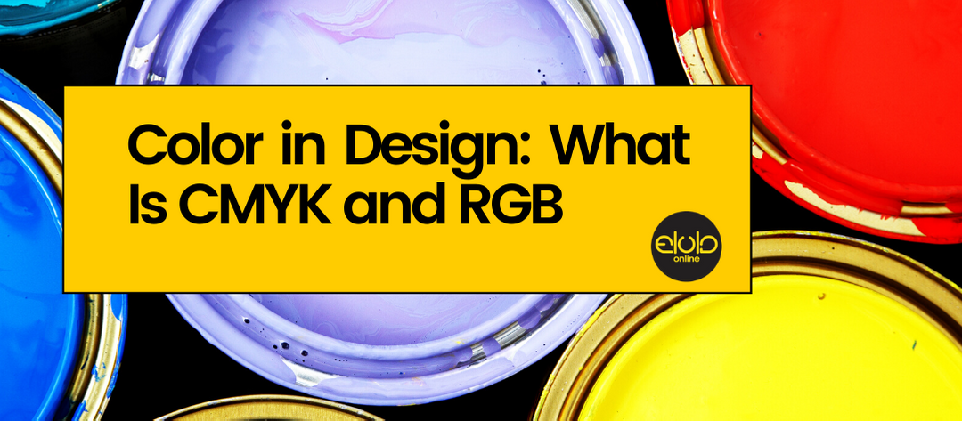 Color in Design: What Is CMYK and RGB