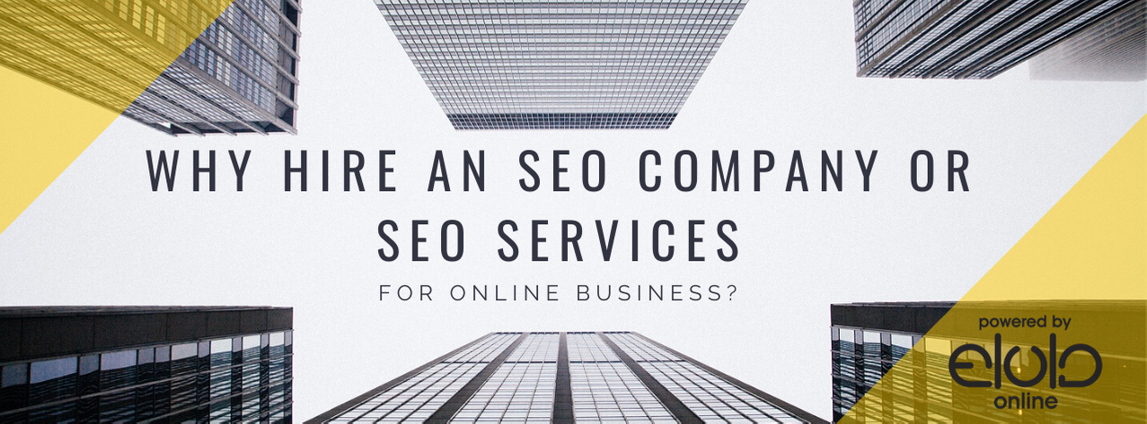 SEO Company, Why Hire an SEO Company Or SEO Services For Online Business?, Elula Online, Elula Online