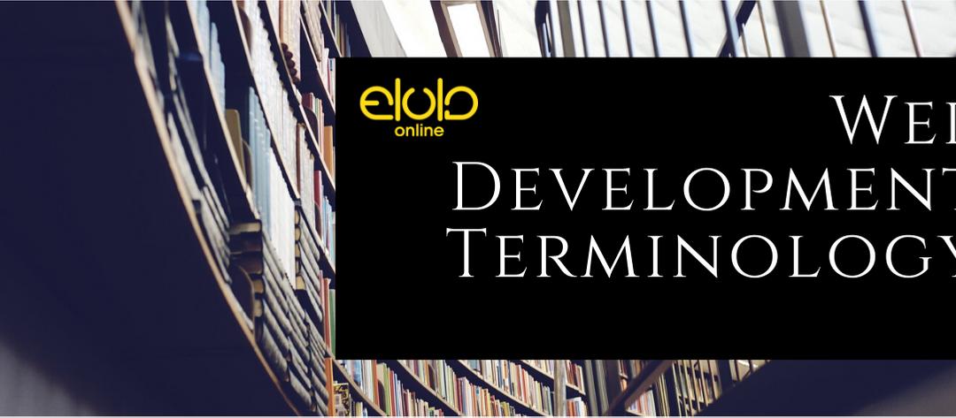 Web Development Terminology